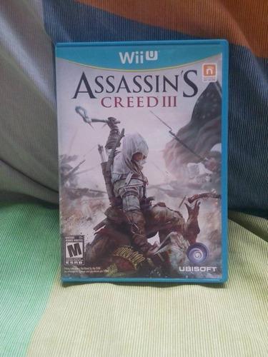 Assassins creed 3 para wii u original