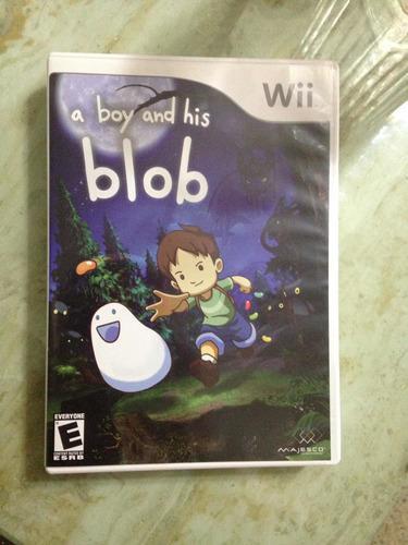 Juego de wii a boy and his blob