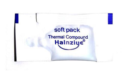 Pasta térmica halnziye 0.7 gramos gris, 1.8 trump por 1