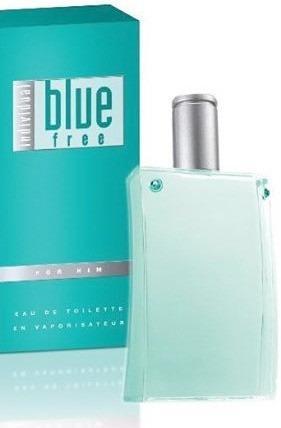Perfume avon blue individual de caballero de 100ml