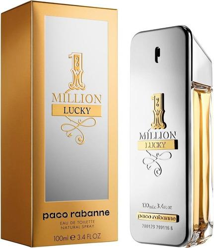 Perfume one million lucky de paco rabanne 100 ml