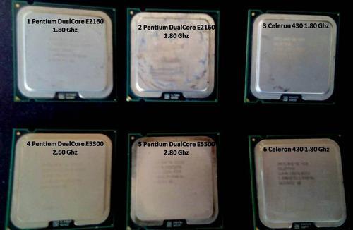 Procesador intel pentium y celeron 430 oferta socket 775
