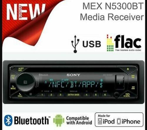 Radio reproductor carro sony usb aux cd control bluetooth