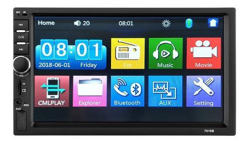 Reproductor pantalla para carro radio bluetooth usb android