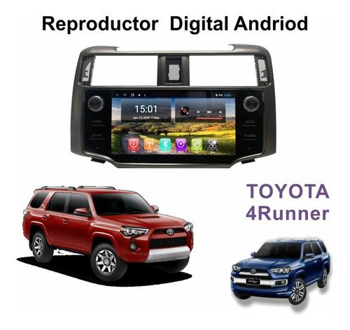 Reproductor toyota 4runner 2011-20 gps, wifi, 4g simcard tv