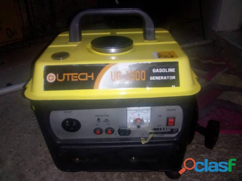 Planta Electrica UTECH 1500 Perfectas Condiciones