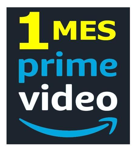 Amazon prime video 1 mes