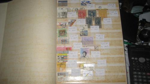 Colección de estampillas series completas