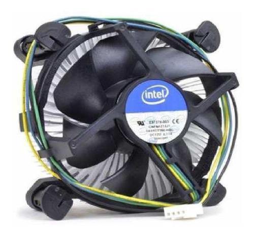 Fan cooler intel disipador 1150 1155 1156 i3 i5 ventilador