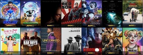 Pack series y películas en digital