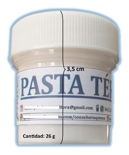 Pasta térmica blanca 26g cq
