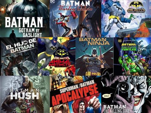 Películas animadas batman -superman