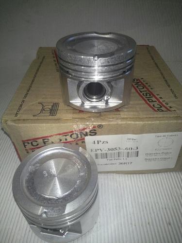 Piston fiat palio 1.3 8v mpi en 0.60 decimas pc pistons