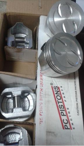 Pistones para motor chevrolet 350 020/030/040/060 pc piston