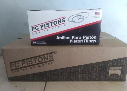 Pistones/anillos jeep cherokee liberty kk 3.7 std 020 030