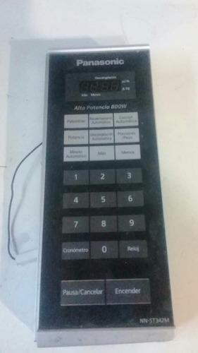 Tarjeta y teclado de horno microondas panasonic nn-st342m