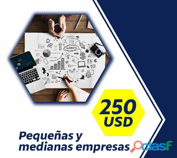 Desarrollo de paginas, aplicaciones y tiendas web