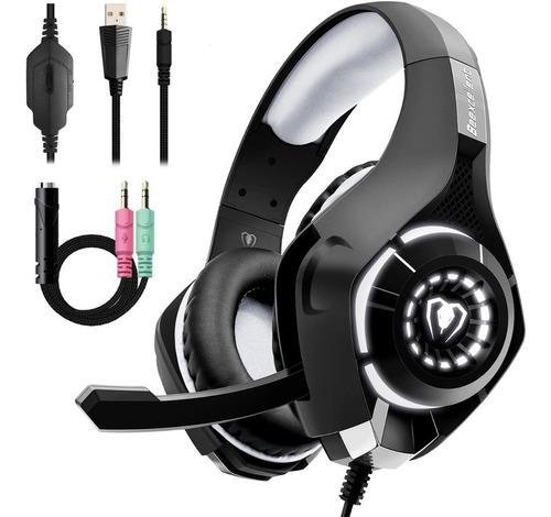 Audifonos gamer ps4, pc, xbox one,nintendo swich con luces