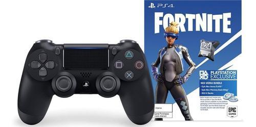 Control dualshock playstation4 fortnite black nuevo sellado