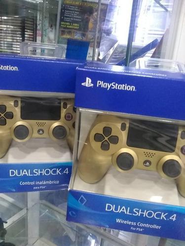 Controles de ps4 originales (tienda física) playstation 4.