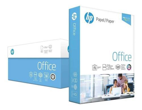 Resma de papel carta marca hp 500 hojas fotocopiadora