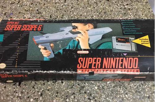 Súper scope 6, súper nintendo