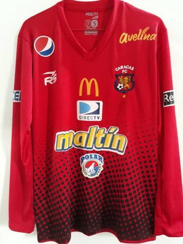 Camisas franela caracas fútbol club caballeros niños