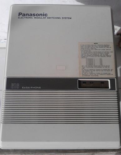 Central telefonica panasonic easa phone kx-t61610b en 160vds