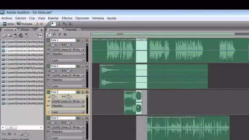 Editor de audio profesional audition 3.0 envío gratis