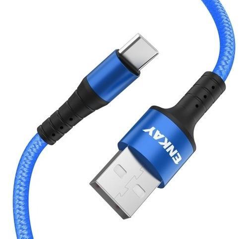 Enk Cb102 Cable Transferencia Dato Tipo Usb Nylon