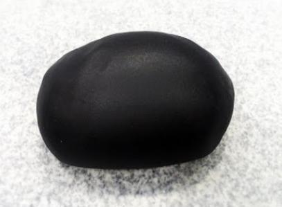 Fondant negro 250 grs masa comestible, cubierta para torta