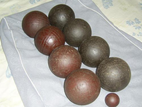 Juego de bolas criollas usadas