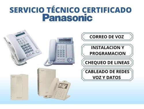 Servicio tecnico especial en centrales panasonic reparacion