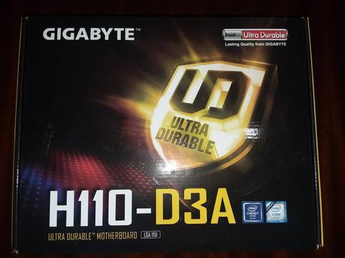 Tarjeta madre gigabyte h110 d3a