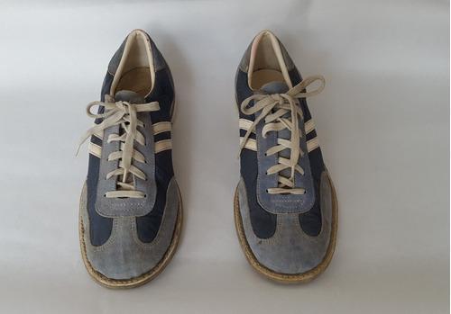 Zapatos para bowling caballeros talla 44 usados(10)