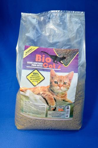 Bio cats arena para gatos bolsa 5kg mascotas animales