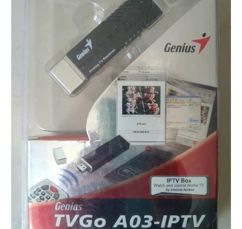 Capturadora de tv analogico, genius tvgo a03-itpv