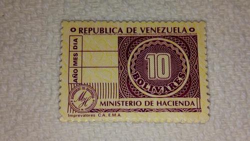 Estampillas de coleccion venezolana 10,50