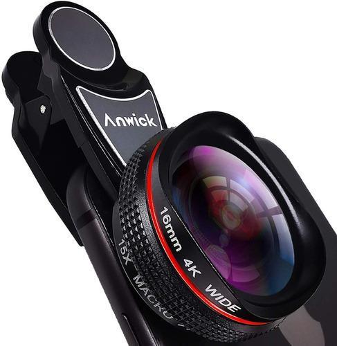 Lente ojo de pez para celular x15 16mm somos tienda