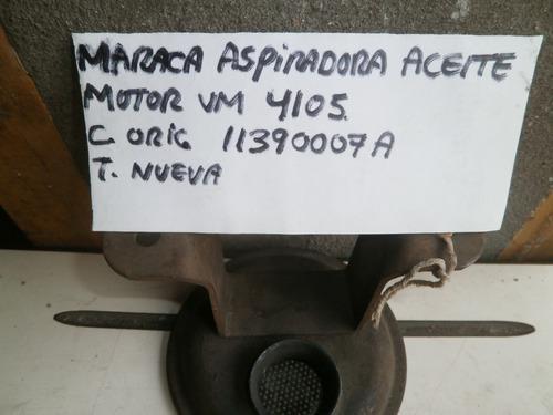 Motor vm maraca aspiradora 4105 codigo 11390007a
