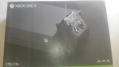Xbox one x completo.