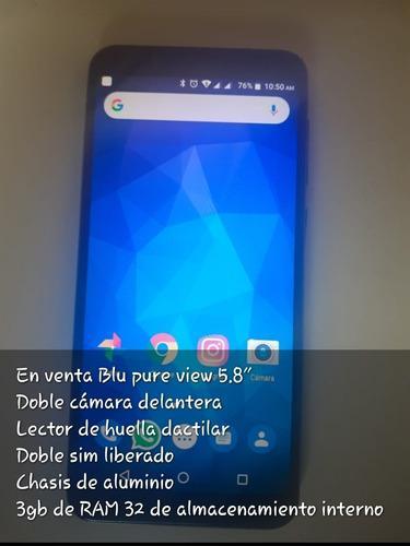 Celular blu pure view 5,8