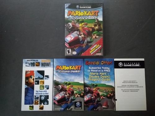 Gamecube mario kart double dash + bonus disc (completo)