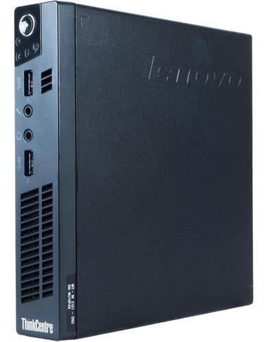 Mini cpu lenovo m72e intel core i3 4gb ddr3 320gb hdd