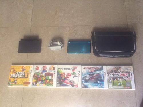 Nintendo 3ds + 5 juegos [60]