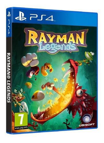 Rayman legends juego (ps4) nuevo y sellado somos tienda