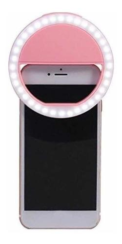 Aro de luz selfie led iphone android recargable usb tienda