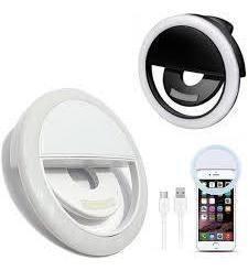 Aro de luz selfie ring led recargable tienda