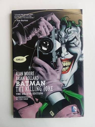 Comics-revista-novela gráfica batman the killing joke