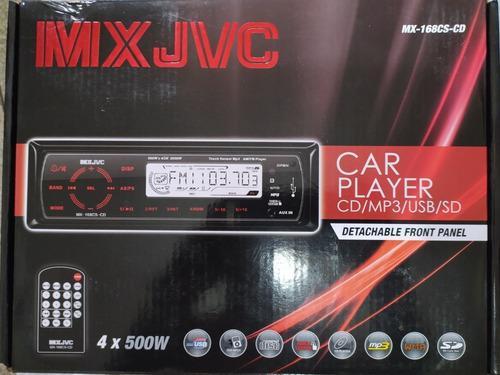 Reproductor para auto mx jvc car player modelo mx-168cs-cd